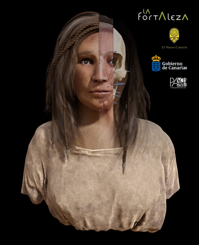 Aborigen canaria del siglo VI