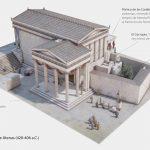 Erecteion de la Acrópolis de Atenas (420-406 a.C.)
